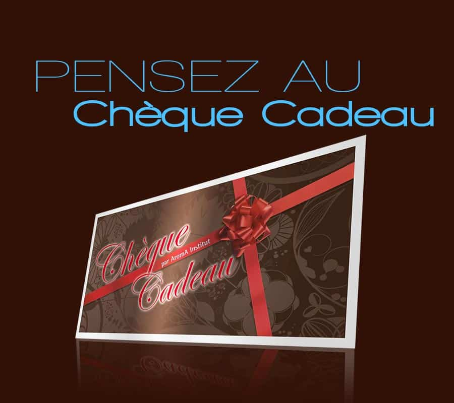 pensez au ch que cadeau aroma institut. Black Bedroom Furniture Sets. Home Design Ideas