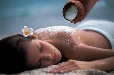 aroma soin corps du dos
