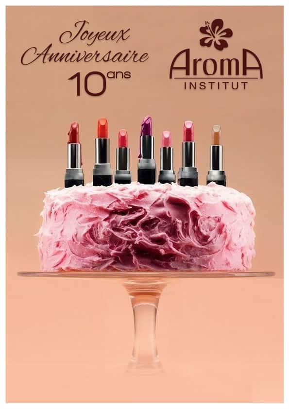 aroma fête ses 10 ans