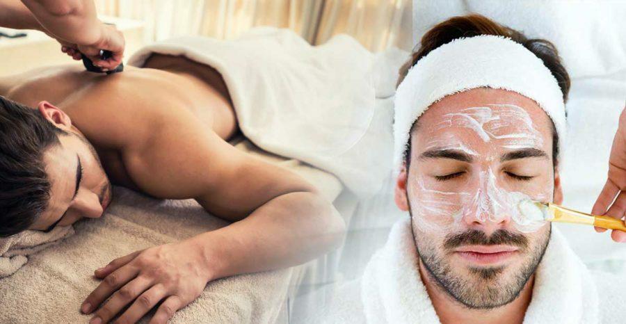 Aroma soin destress duo, massage du dos suivi d'un soin du visage