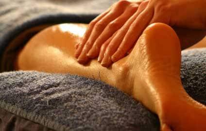 aroma massage sportif