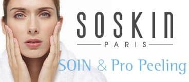 Aroma institut à nice, vous propose les soins Soskin Paris, soins du visage et Pro Pelling