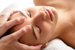aroma massage du crâne